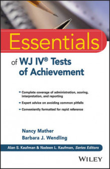 Essentials of WJ IV Tests of Achievement av Nancy Mather og Barbara J. Wendling (Heftet)