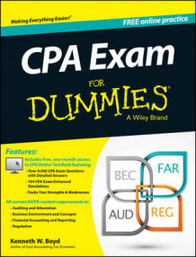 CPA Exam For Dummies av Kenneth W. Boyd og Consumer Dummies (Heftet)