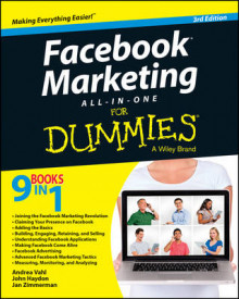 Facebook Marketing All-In-One for Dummies, 3rd Edition av Andrea Vahl, John Haydon og Jan Zimmerman (Heftet)