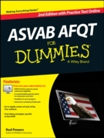Asvab AFQT For Dummies, with Online Practice Tests av Rod Powers og Consumer Dummies (Heftet)