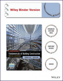 Fundamentals of Building Construction: Materials and Methods with Interactive Resource Center Access Card, 6th Edition Binder Ready Version av Architect and Lecturer Edward Allen og Joseph Iano (Perm)