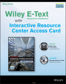 Fundamentals of Building Construction, 6e Wiley E-Text Card and Interactive Resource Center Access Card av Architect and Lecturer Edward Allen (Heftet)