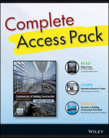 Building Construction 6th Edition Complete Access Pack with Wiley E-Text, Construction Exercises 6th Edition, and Interactive Resource Center Access Card av Architect and Lecturer Edward Allen (Heftet)