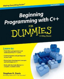 Beginning Programming with C++ for Dummies, 2nd Edition av Stephen R. Davis (Heftet)