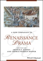 Omslag - A New Companion to Renaissance Drama