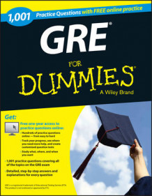 1,001 GRE Practice Questions For Dummies with Free Online Practice av Consumer Dummies og Ron Woldoff (Heftet)