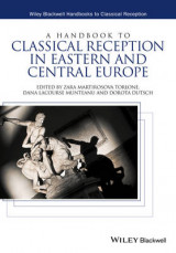 Omslag - A Handbook to Classical Reception in Eastern and Central Europe