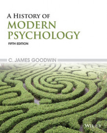 A History of Modern Psychology av C. James Goodwin (Heftet)