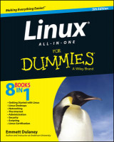 Omslag - Linux All-in-One For Dummies