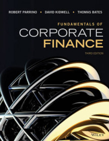 Fundamentals of Corporate Finance av Robert Parrino (Innbundet)