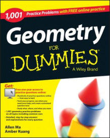 1,001 Geometry Practice Problems For Dummies av Allen Ma, Amber Kuang og Consumer Dummies (Heftet)