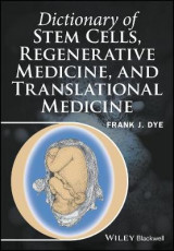 Omslag - Dictionary of Stem Cells, Regenerative Medicine, and Translational Medicine