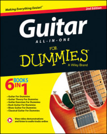 Guitar All-in-One For Dummies av Hal Leonard Corporation, Jon Chappell, Mark Phillips, Desi R. Serna og Consumer Dummies (Blandet mediaprodukt)