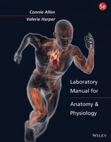 Laboratory Manual for Anatomy and Physiology 5e Binder Ready Version with Powerphys 3.0 Password Card Set av Connie Allen og Valerie Harper (Perm)