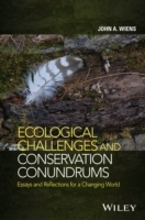 Ecological Challenges and Conservation Conundrums av John A. Wiens (Innbundet)