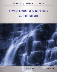 Systems Analysis and Design, 6th Edition av Alan Dennis, Barbara Haley Wixom og Roberta M. Roth (Heftet)