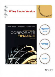 Fundamentals of Corporate Finance av Robert Parrino (Perm)