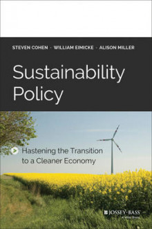 Sustainability Policy av Steven Cohen, William B. Eimicke og Allison Miller (Innbundet)
