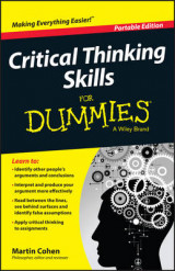 Omslag - Critical Thinking Skills For Dummies