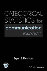 Omslag - Categorical Statistics for Communication Research
