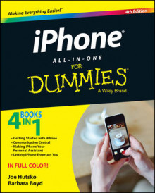 iPhone All-in-One For Dummies av Joe Hutsko og Barbara Boyd (Heftet)