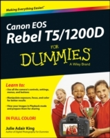Canon EOS Rebel T5/1200D For Dummies av Julie Adair King og Robert Correll (Heftet)