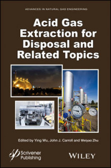 Acid Gas Extraction for Disposal and Related Topics: Volume 5 av Ying Wu, John J. Carroll og Weiyao Zhu (Innbundet)
