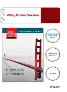Intermediate Accounting, 2014 FASB Update av Donald E Kieso (Perm)