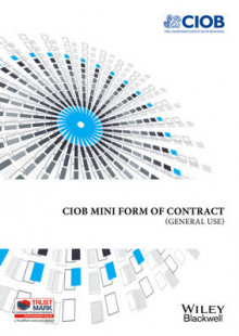 Mini Form of Contract av Chartered Institute of Building (Heftet)