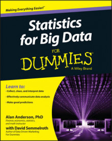 Statistics for Big Data for Dummies av Alan Anderson, David Semmelroth og Consumer Dummies (Heftet)