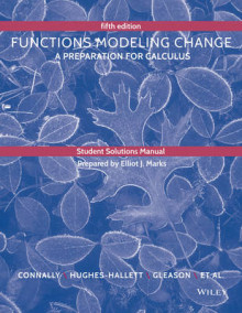 Student Solutions Manual to Accompany Functions Modeling Change av Eric Connally og Deborah Hughes-Hallett (Heftet)