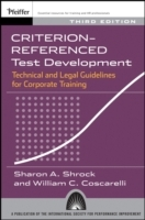 Criterion-referenced Test Development av Sharon A. Shrock og William C. Coscarelli (Heftet)