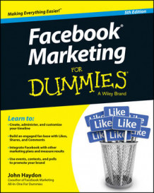 Facebook Marketing for Dummies, 5th Edition av John Haydon (Heftet)