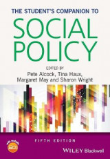 Omslag - The Student's Companion to Social Policy