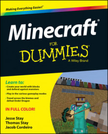 Minecraft For Dummies av Jesse Stay, Thomas Stay og Jacob Cordeiro (Heftet)