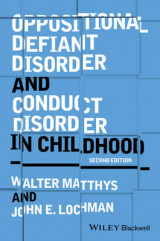 Omslag - Oppositional Defiant Disorder and Conduct Disorder in Childhood