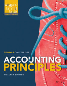 Accounting Principles, Volume 2 av Jerry J Weygandt, Donald E Kieso og Paul D Kimmel (Heftet)