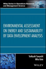 Omslag - Environmental Assessment on Energy and Sustainability by Data Envelopment Analysis