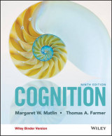 Omslag - Cognition, Ninth Edition Binder Ready Version