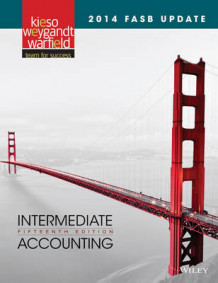 2014 FASB Update Intermediate Accounting 15E av Donald E. Kieso, Jerry J. Weygandt og Terry D. Warfield (Innbundet)