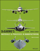 Omslag - Degarmo's Materials and Processes in Manufacturing
