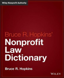Hopkins' Nonprofit Law Dictionary av Bruce R. Hopkins (Innbundet)