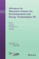Advances in Materials Science for Environmental and Energy Technologies: No. 3 (Innbundet)