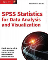 Omslag - SPSS Statistics for Data Analysis and Visualization