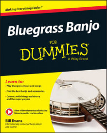 Bluegrass Banjo For Dummies av Bill Evans (Heftet)