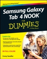 Samsung Galaxy Tab 4 Nook For Dummies av Corey Sandler (Heftet)