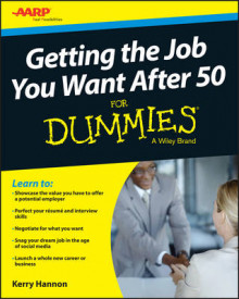 Getting the Job You Want After 50 for Dummies av Kerry Hannon (Heftet)