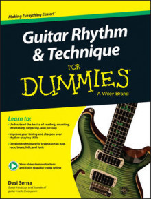 Guitar Rhythm & Technique For Dummies av Desi R. Serna og Consumer Dummies (Blandet mediaprodukt)