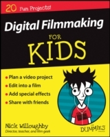 Digital Filmmaking for Kids for Dummies av Nick Willoughby (Heftet)