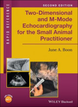 Omslag - Two-Dimensional and M-Mode Echocardiography for the Small Animal Practitioner